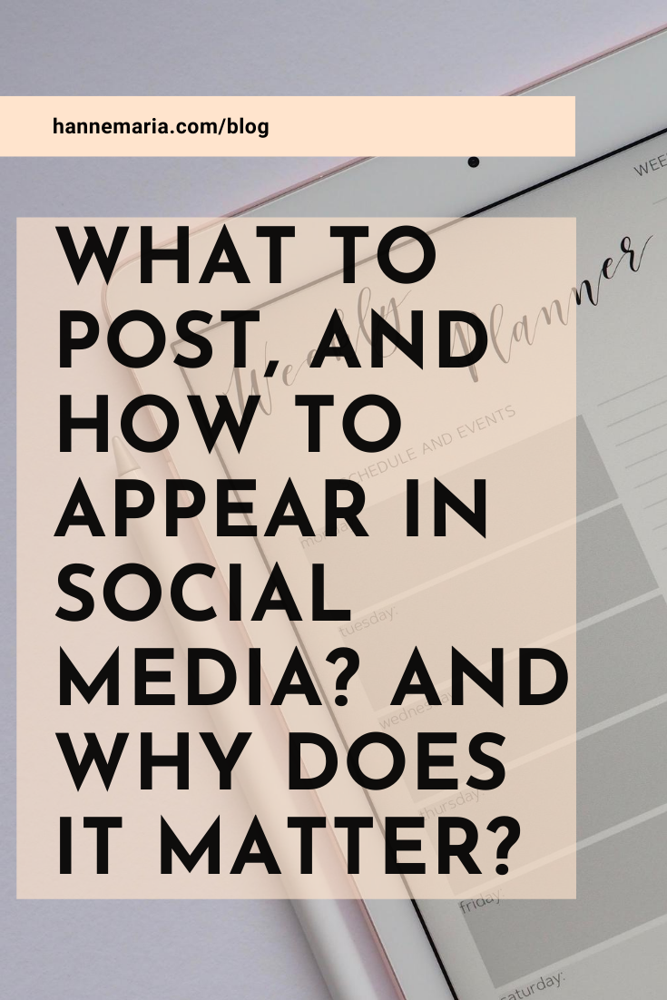What to post in social media?