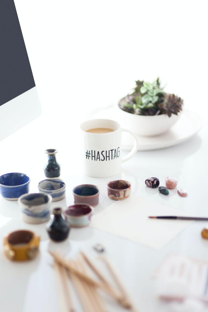 What is the purpose of hashtags?
